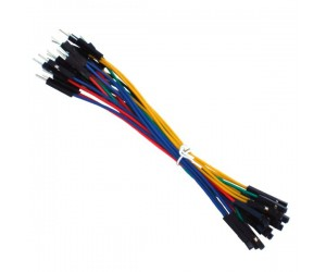 Male to Female Jumper Wires-10 Pieces