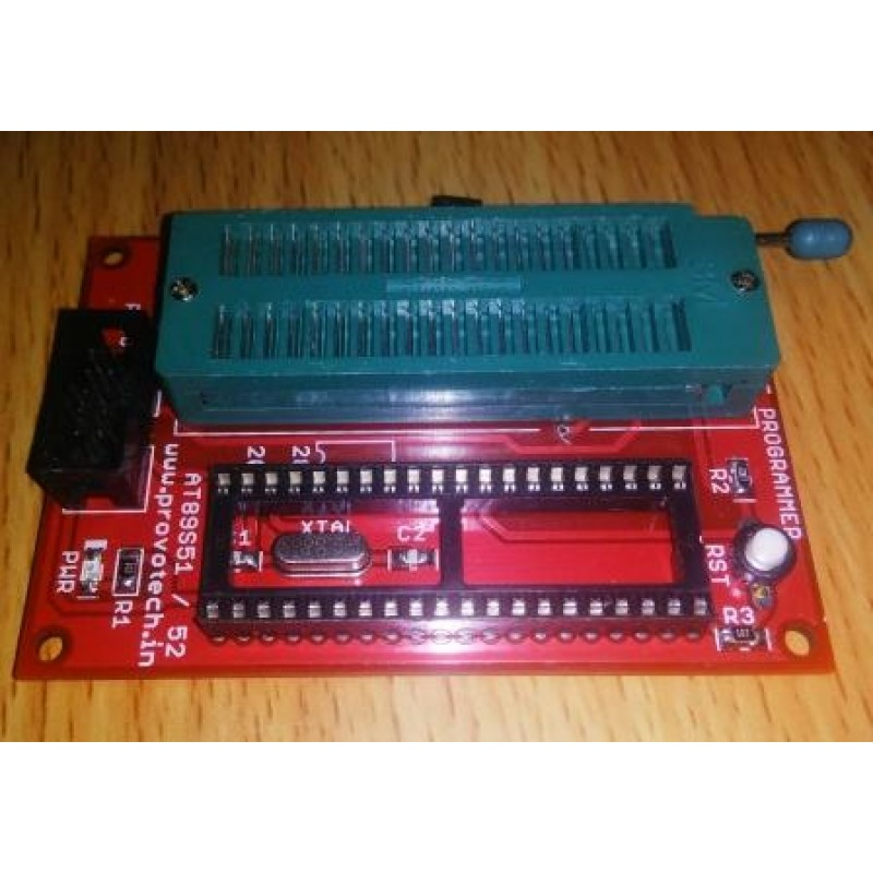 8051 programmer Its to hard to find 8051 programmer with usb connectivity you will find so many circuits for 8051 programming by max232 but it will not work if its not icsp or the bootloader is not installed on chip.