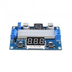DC to DC Adjustable Step Up Boost Converter Power Supply Module Voltage Regulator DC 3-35V to DC 3.5-35V with Voltmeter Display