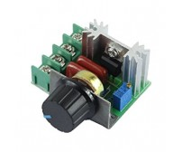 AC SCR Voltage Regulator - 220V 2000W - Speed Controller - Dimmer