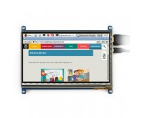 7 inch Capacitive Touch Screen for Raspberry Pi (With bicolour case)