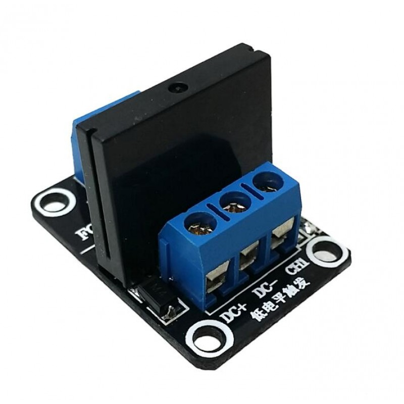 Low Level Solid State Relay Modules With Fuse Solid State Relay 250V2A - Solid State Relay Ir