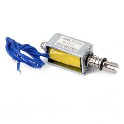 DC 12V Push-Pull Type Open Frame Solenoid Electromagnet