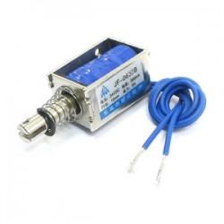JF-0630B DC24V 6N Force 10mm Stroke Linear Motion Solenoid Electromagnet