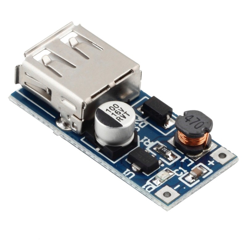 Usb Dc 0 9v To 5v Voltage Step Up Boost Module