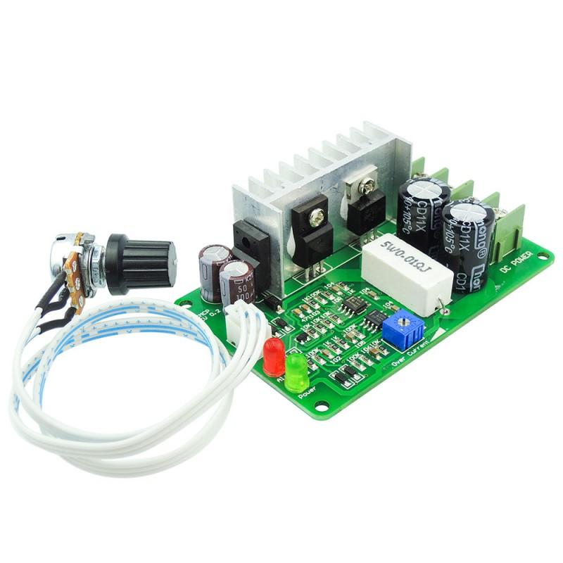 2 - 3 days dc 12v-36v - motor speed controller - current limiter module -  1a-10a