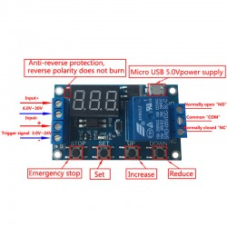1 Channel - 5V Time Delay Relay Module