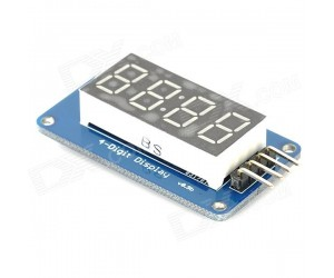 TM1637 Based 4 Bits Red Digital Tube LED Display Module