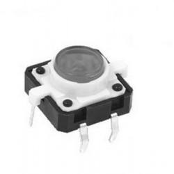 LED Tactile Button - White