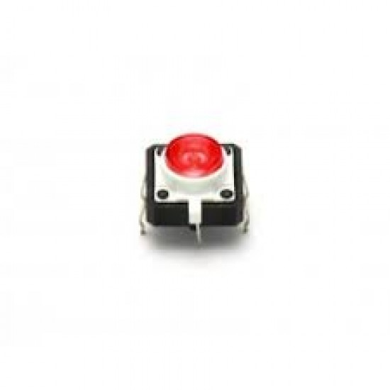 LED Tactile Button-Red