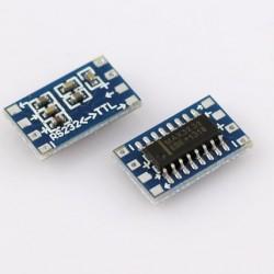 Mini RS232 MAX3232 Level To TTL Level Converter Board