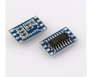 Mini RS232 MAX3232 Level To TTL Level Converter Board