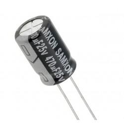 470uf 25v Electrolytic Capacitor