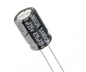 470uf 25v Electrolytic Capacitor