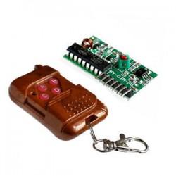 4CH IC 2262/2272 Key 315MHZ Wireless Remote Control Receiver module