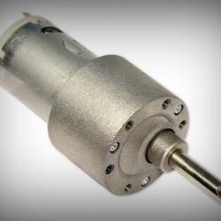 Geared 100 RPM Side Shaft Motor