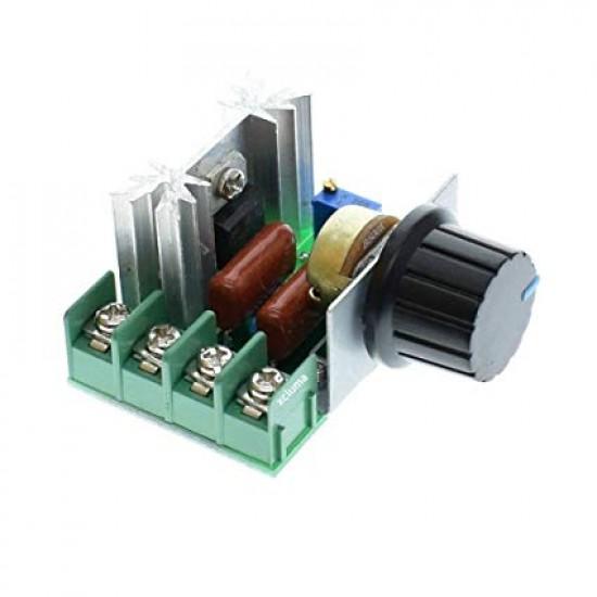 AC SCR Voltage Regulator - 220V 2000W - Speed Controller - Dimmer