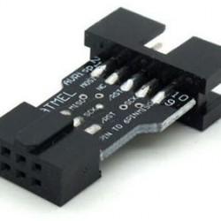 AVRISP / USBasp / STK500 10PIN To 6PIN Standard Conversion Seat