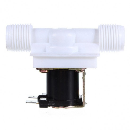 """1/2"""" Electric Solenoid Valve Flow Switch - DC 12V - 250mA"""