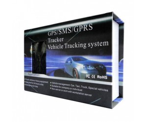 GPS-SMS GPRS Tracker Vehicle Tracking System