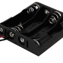4x AA Battery Holder