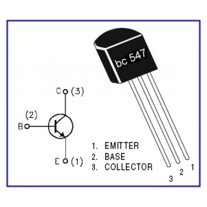 Super Bc547 Npn Transistor Wiring 101 Archstreekradiomeanderfmnl