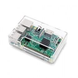 Plastic Case for Raspberry Pi B+ / Pi2 / Pi 3 - Transparent