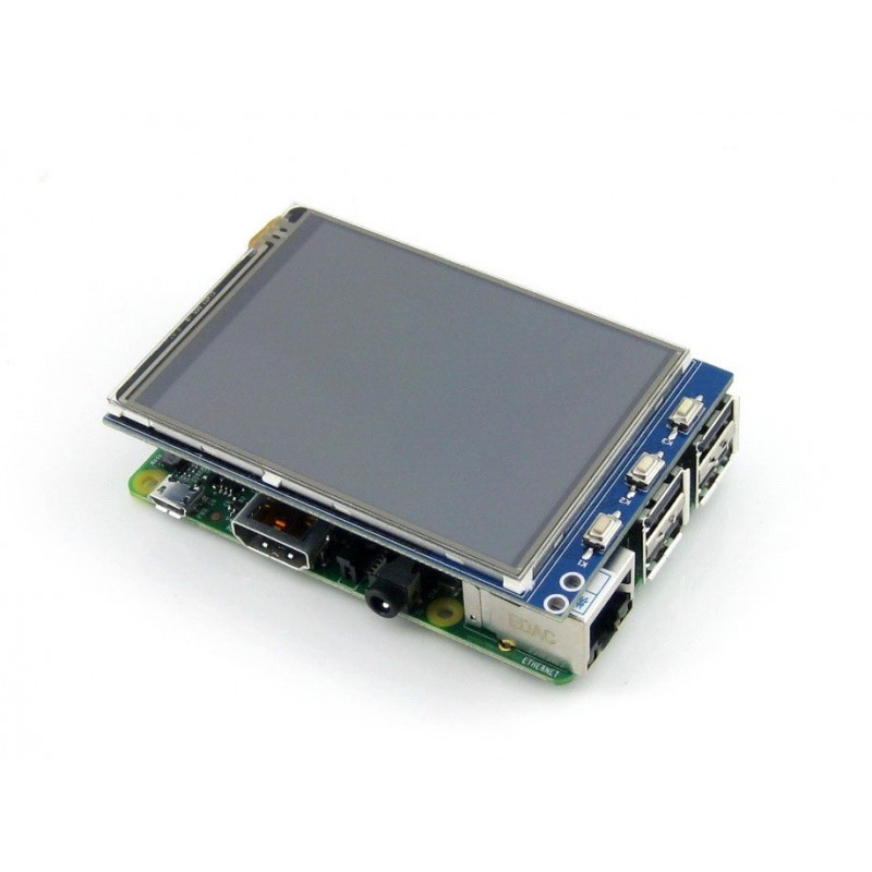 "3 2"" Resistive Touch Display/Screen for Raspberry Pi"