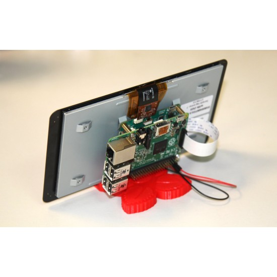 """Raspberry-Pi 7"""" Touch Screen Display with 10 Finger Capacitive Touch"""