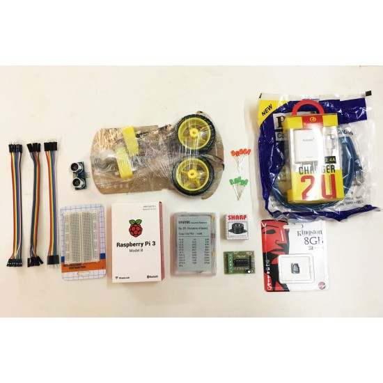 Raspberry Pi 3 Robotic Kit