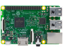 Raspberry Pi 3 (WiFi, BLE and 64Bit) (Made in UK)