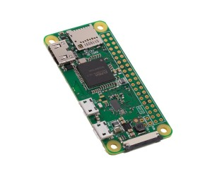 Raspberry Pi Zero W  (Basic Pack with Pi Zero W, Case and Camera Connector)