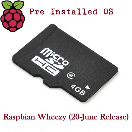 4GB Micro SD Card for Raspberry Pi