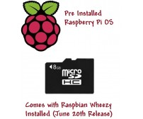 8GB Micro SD Card for Raspberry Pi