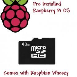 8GB Micro SD Card for Raspberry Pi