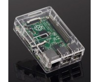 Plastic Case for Raspberry Pi B+ / Pi2 / Pi 3 - Transparent