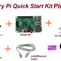 Raspberry Pi B Plus Quick Start Kit