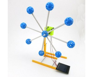 DIY Solar Power Ferris Wheel Toy