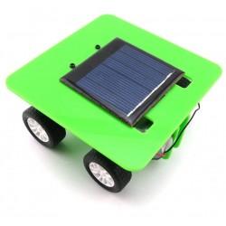 Self Assembly Mini Solar Powered DIY Car Kit