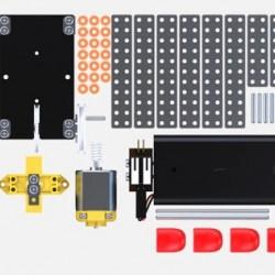 DIY Double Drive Quadruped Robot Plastic Puzzle Toy