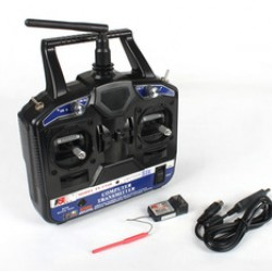 2.4G Fly-Sky (FS) CT6B 6-Channel Digital Proportional Transmitter+Receiver RC System (R6B)
