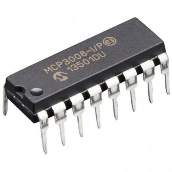 MCP3008 - 8-Channel 10-Bit ADC