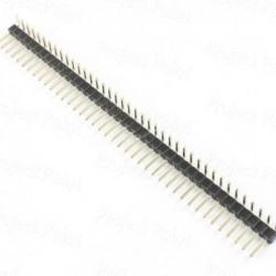 40 Pin Male Berg Strip - Break Away Header - 90 Degree