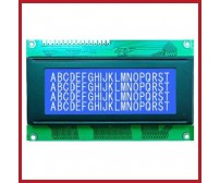 LCD - 20x4 - Alphanumeric Characters - JHD629 - White Display, Blue Backlight
