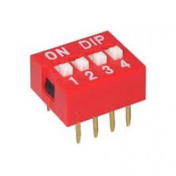 DIP Switch (4-Pin)