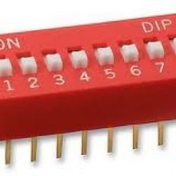 DIP Switch (8-Pin)