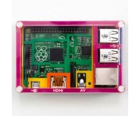 Rainbow Case for Raspberry Pi Model B+ and Raspberry Pi 2 Module