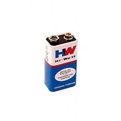 9V Battery -Hi-Watt