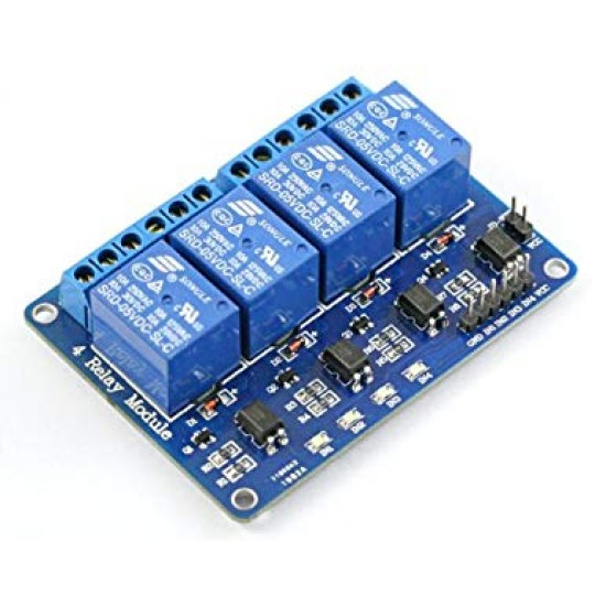 4 Channel Relay Module -5V -Active Low