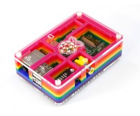 Rainbow Case for Raspberry Pi